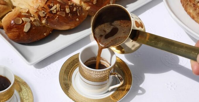 how to prepare greek coffee