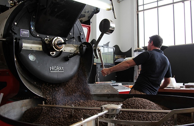 how to start a coffee roasting business